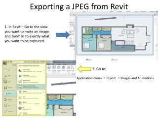Exporting a JPEG from Revit