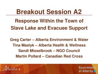 Breakout Session A2