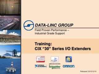 "Training: CIX ""30"" Series I/O Extenders"