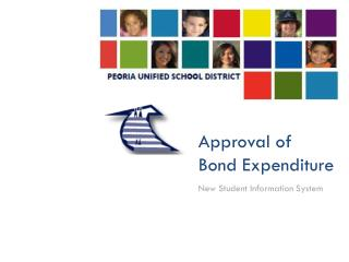 Approval of Bond Expenditure