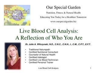 Live Blood Cell Analysis: A Reflection of Who You Are