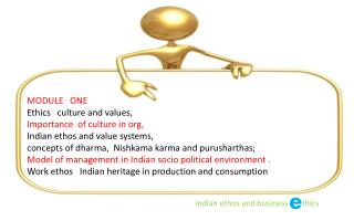 indian  ethos and business