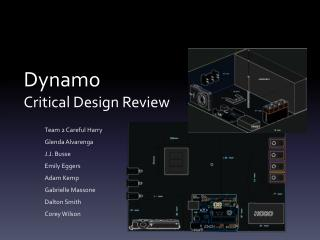 Dynamo Critical Design Review