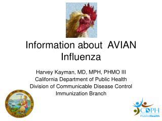 Information about AVIAN Influenza