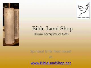 BIBLE LAND SHOP-THE ULTIMATE DESTINATION FOR SPIRITUAL GIFTS