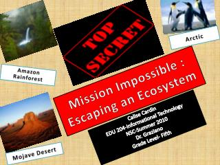 Mission Impossible : Escaping an Ecosystem