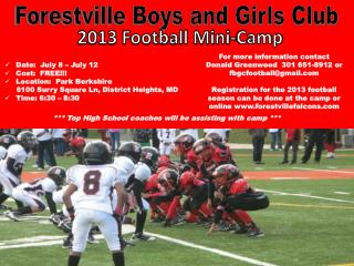 Forestville Boys and Girls Club