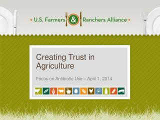 Creating Trust in Agriculture
