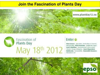 J oin the Fascination of Plants Day