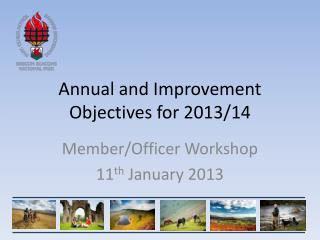 Annual and Improvement Objectives for 2013/14