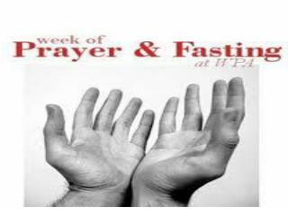 Jesus Himself prayed and fasted:  Matthew  4:1-11