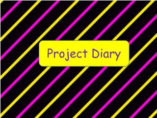 Project Diary