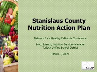Stanislaus County Nutrition Action Plan