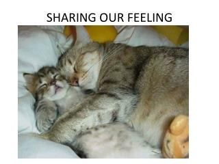 SHARING OUR FEELING
