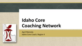 Idaho Core  Coaching Network