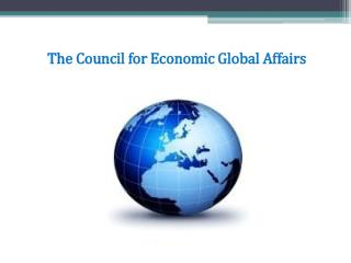 The Council for Economic Global Affairs
