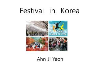 Festival  in  Korea