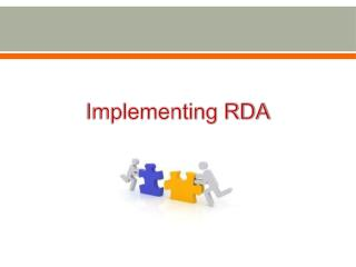 Implementing RDA