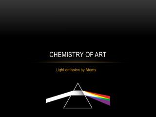 Chemistry of Art
