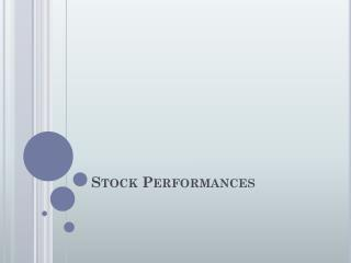 Stock Performances