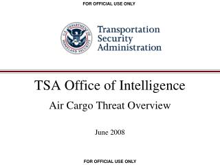 TSA Office of Intelligence