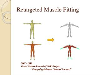 Retargeted Muscle Fitting