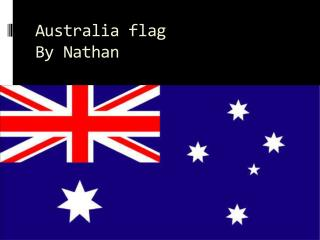 Australia flag By Nathan