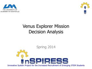 Venus Explorer Mission Decision Analysis