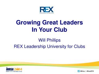 Growing Great Leaders In Your Club