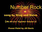 Number Rock  song by Greg and Steve  We All Live Together Volume 2