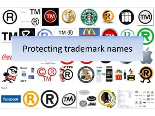 Protecting trademark names