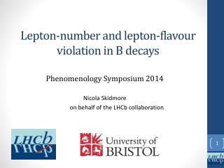 L epton-number and lepton- flavour  violation in B decays