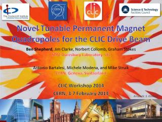 Novel Tunable Permanent Magnet Quadrupoles  for the  CLIC Drive Beam