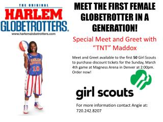 MEET THE FIRST FEMALE GLOBETROTTER IN A GENERATION!