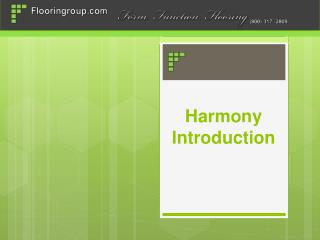 Harmony Introduction