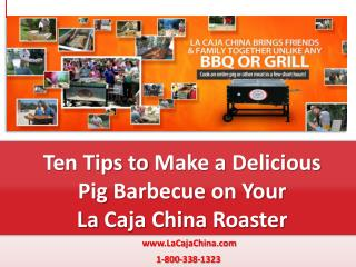 10 Easy Tips to a Delicious BBQ Grilled Pig
