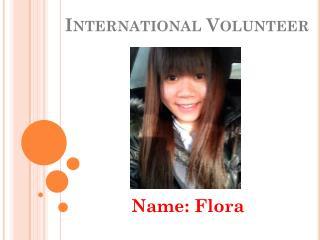 International Volunteer