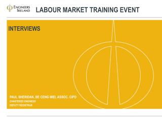 Labour  Market Training event