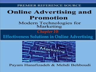 Chapter 10: Effectiveness Solutions in Online Advertising
