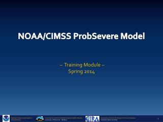 NOAA/CIMSS ProbSevere Model
