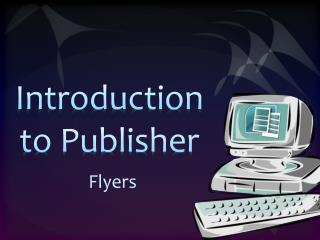 Introduction  to Publisher