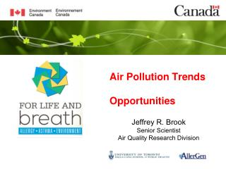 Air  Pollution Trends Opportunities