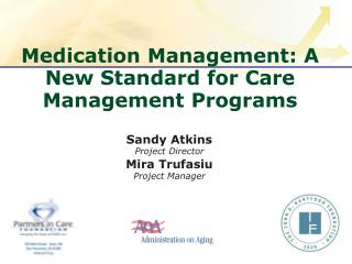Medication Management: A New Standard for Care Management Programs