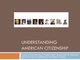 Understanding American Citizenship