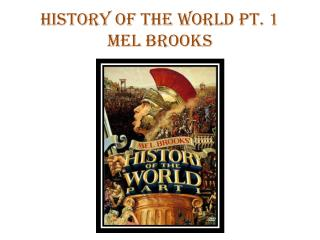History of the World Pt. 1 Mel Brooks