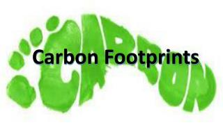 Carbon Footprints