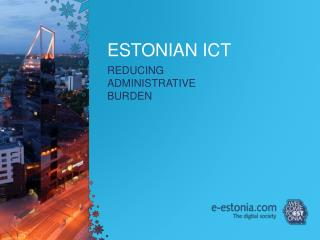 ESTONIAN ICT