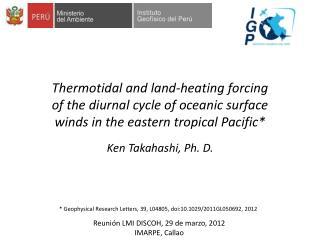 Ken Takahashi, Ph. D.