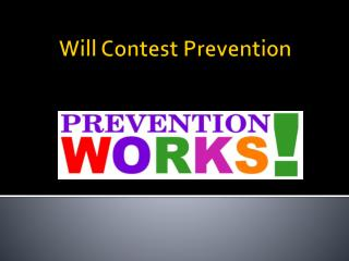 Will Contest Prevention