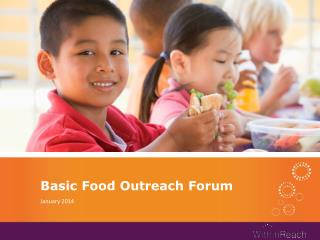 Basic Food Outreach Forum